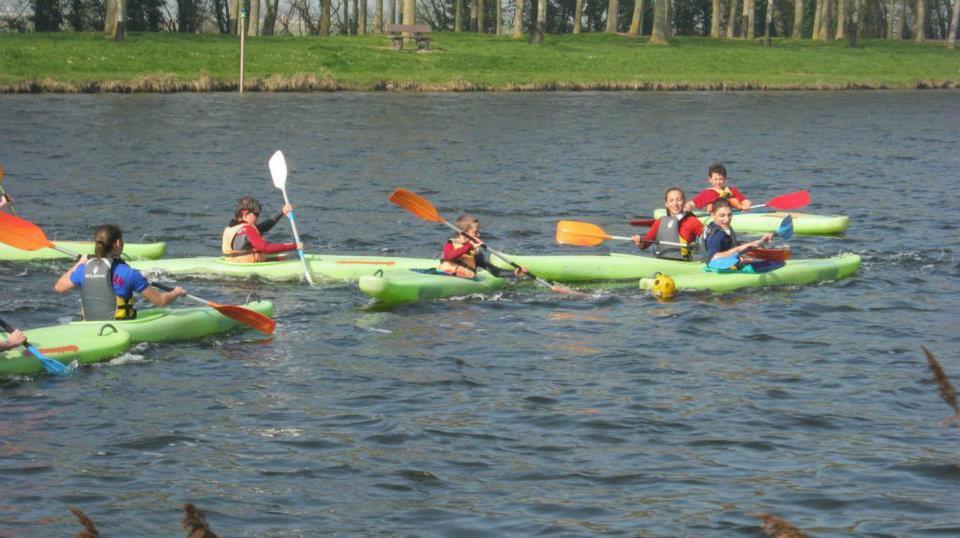 Kayak Polo dans la manche
