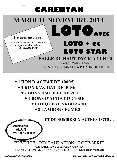 Loto 11 11 2014